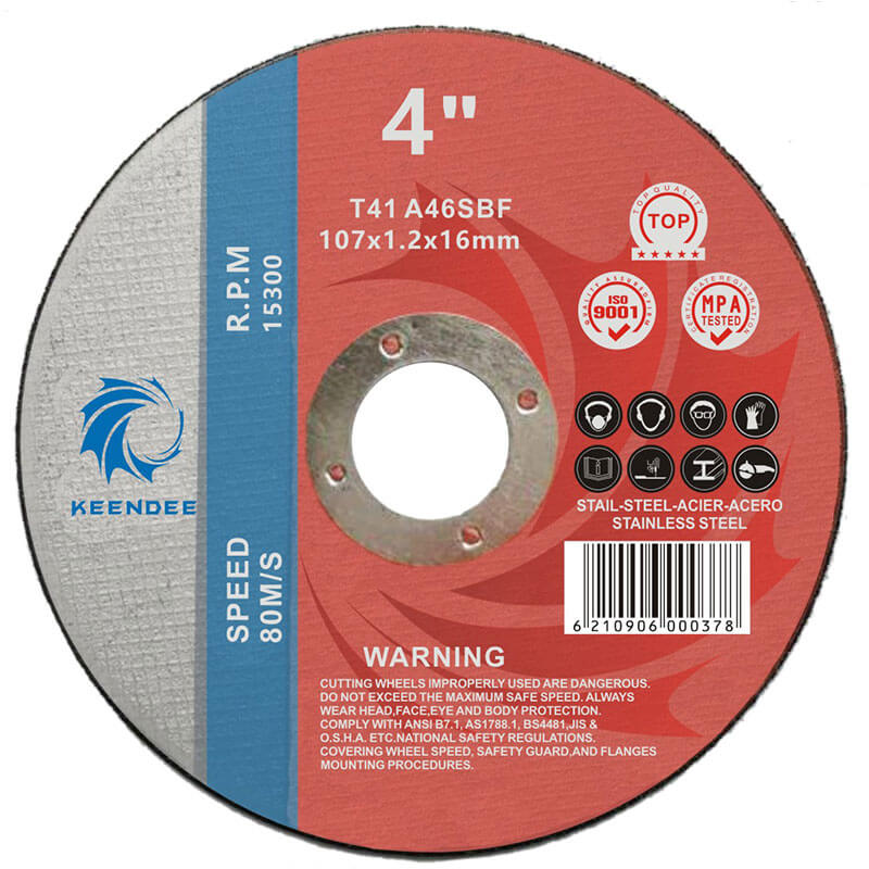 4 Inch Cutting Discs For Metal, Pipe, Ss Pipe, Metal Sheet, 4Inches (107X1.2X16)