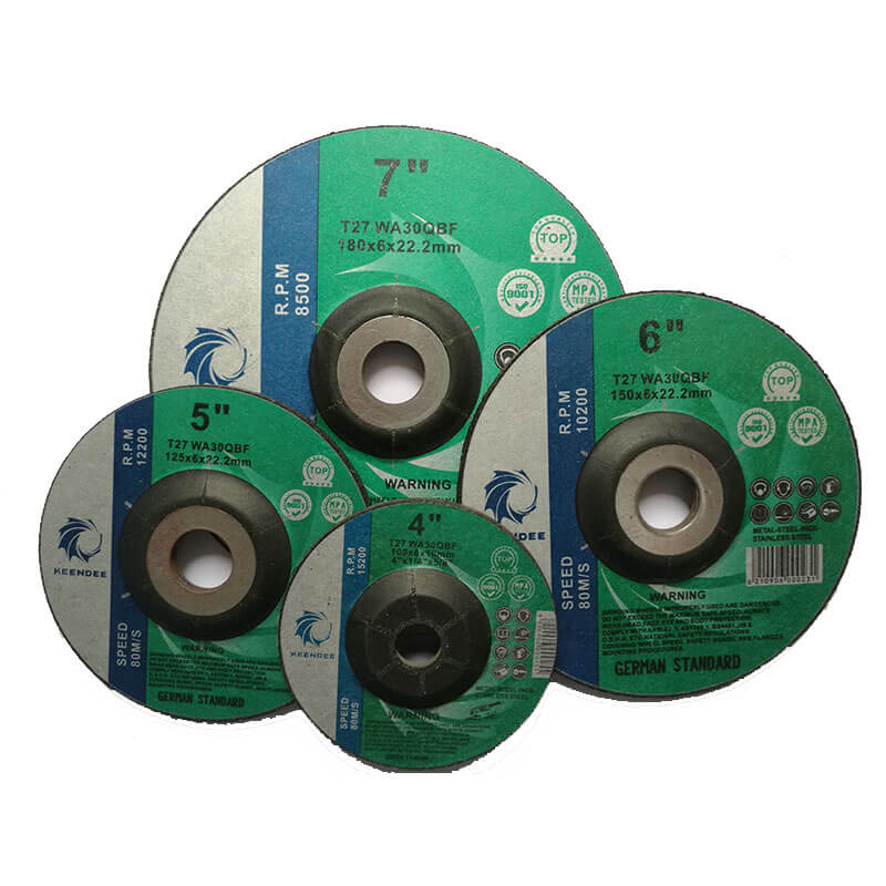 4 Inch Grinding Discs, 4.5 Inch Abrasive Grinding Wheels, 5 Inch Metal Grinding Discs, 6 Inch Stainless Steel Grinding Wheels, 7 Inch Grinder