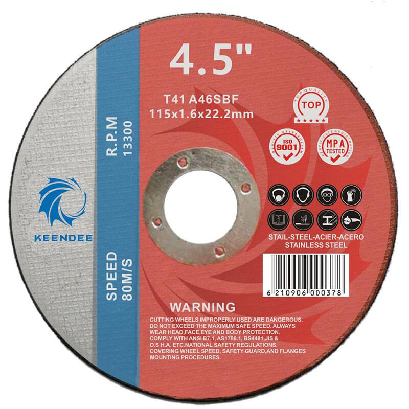 4.5 Inch Metal Cutting, Steel Pipe Cutting, Metal Sheet Cutting, 4.5 Inches (115X2.0X22)