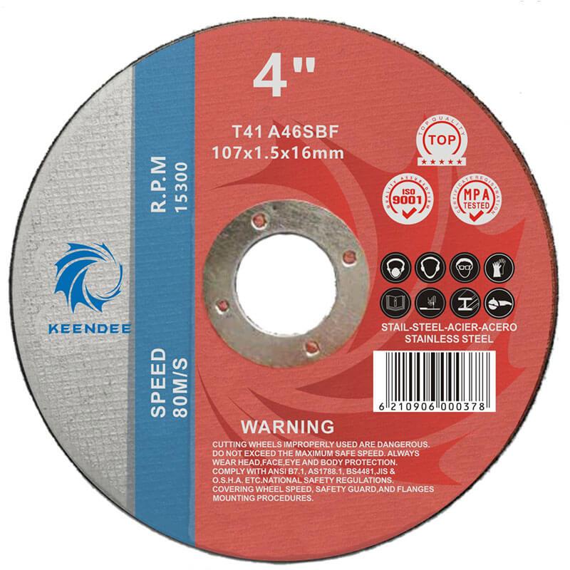 4.5 Inch Ultra Thin Cutting Cutting Wheel, Cut Metal, Inox Cutting, Titanium Alloy, 4.5 Inches (115X1.0X22)
