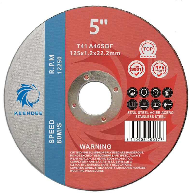 5 Inch Abrasive Wheels For Metals, Cutting All Kinds Of Pipes, 5 Inches (125X2.0X22)