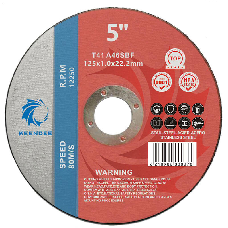 5 Inch Cutting Disc, Cutting All Kinds Of Metal Pipes, Inox Pipes, 5 Inches (125X1.6X22)