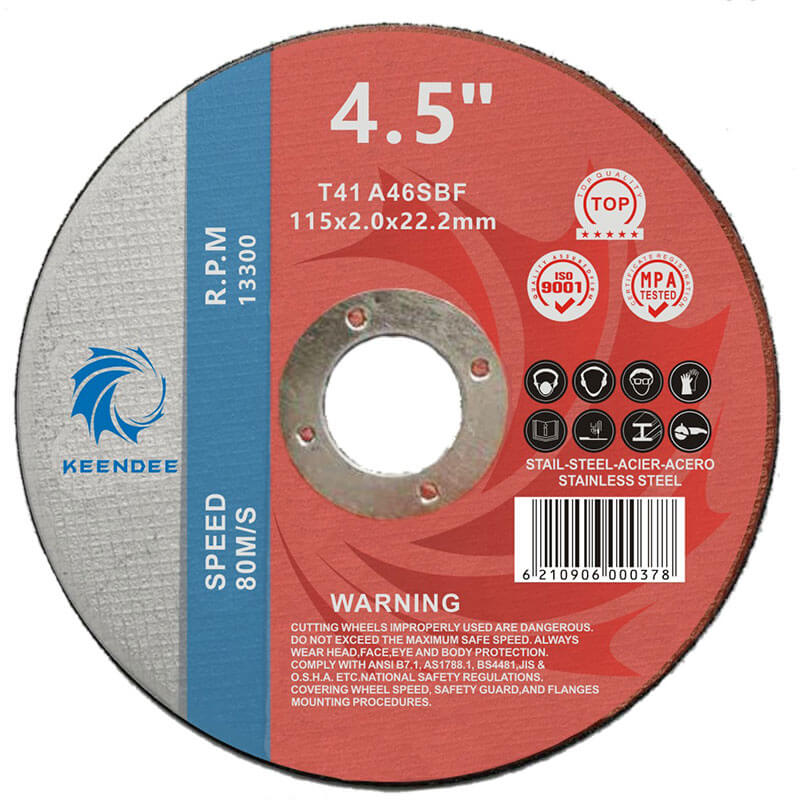 5 Inch Ultra Thin Cutting Discs, Special For Cutting Stainless Steel, All Kinds Of Metals, 5 Inches (125X1.0X22)